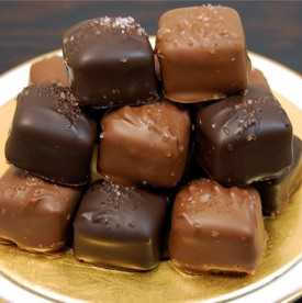Artisan Chocolate Sea Salt Caramels