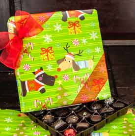 Belgian Doggone Christmas Gift Box